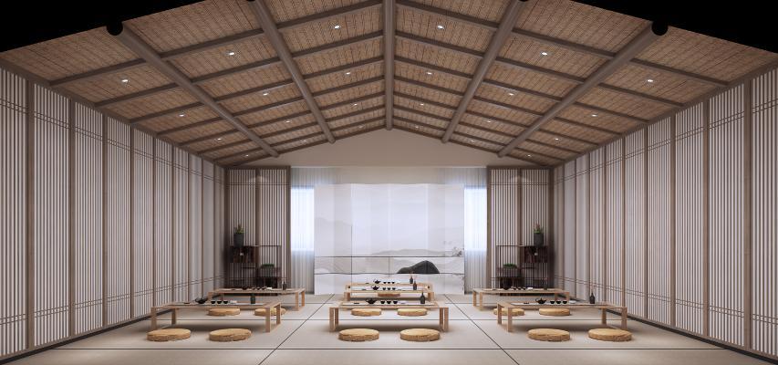 新中式茶艺 教室 茶室