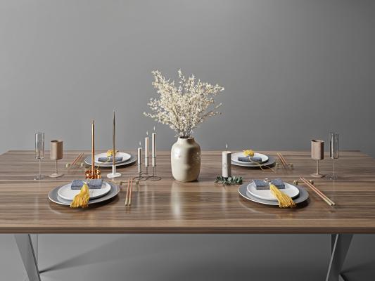 现代餐具 餐盘