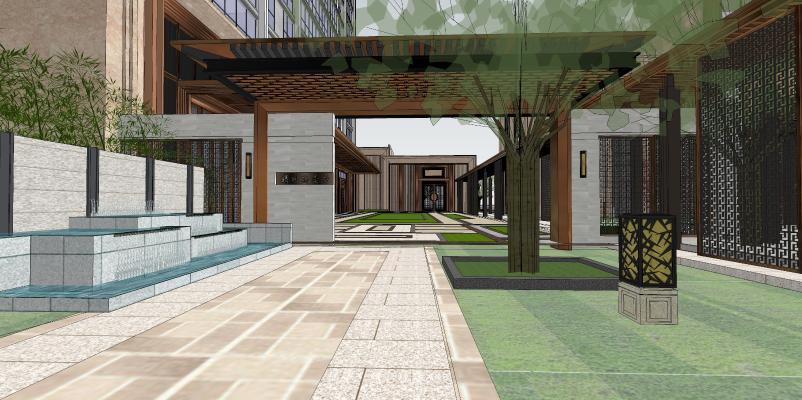 新中式碧桂园高级住宅