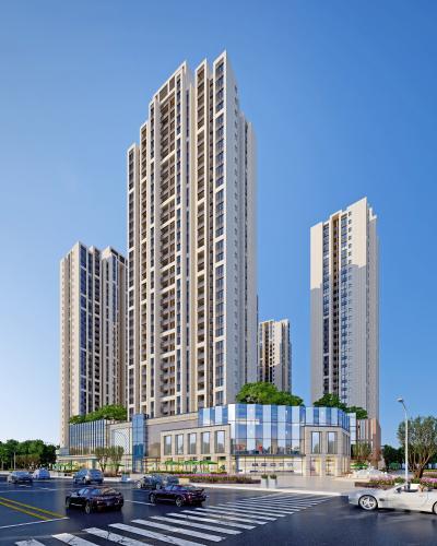 现代高层住宅商业