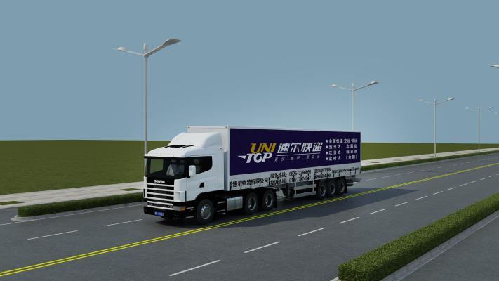 现代大货车