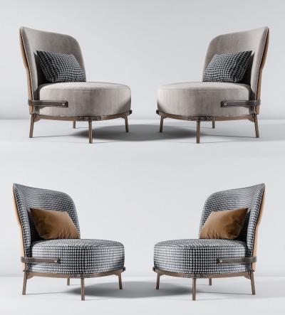 现代单椅组合