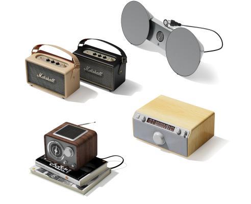 现代便携式小音响