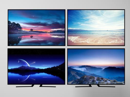 现代液晶电视