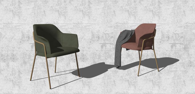 现代风格休闲椅