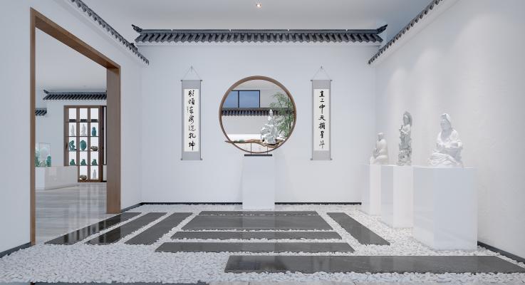 新中式徽派展厅