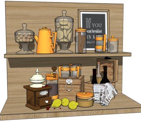 现代装饰品 厨房摆件