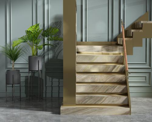 现代楼梯组合
