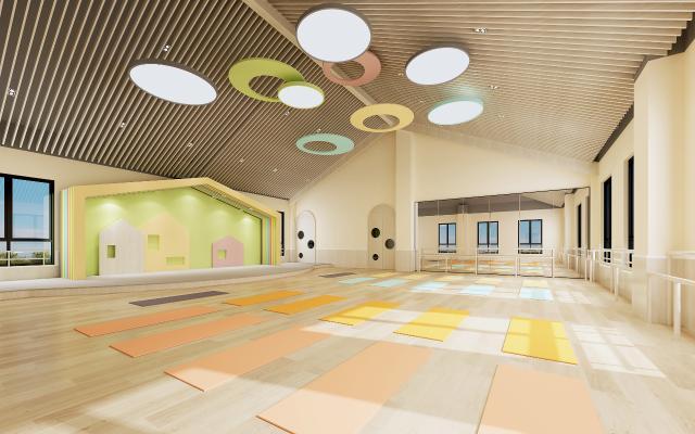 现代舞蹈瑜珈教室