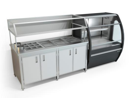 現代櫥柜 冷柜 保鮮柜