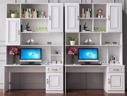 北欧书桌 书柜 电脑桌 写字桌