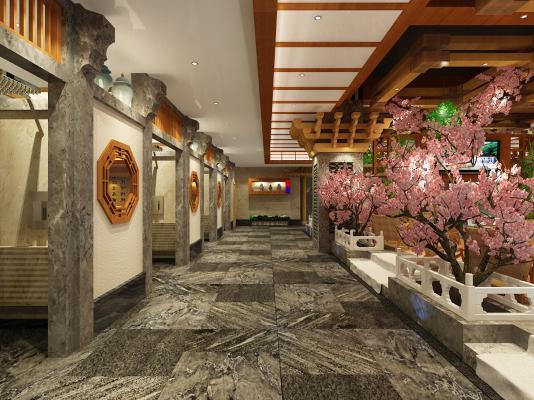 新中式洗浴中心