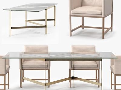 现代简约休闲桌椅