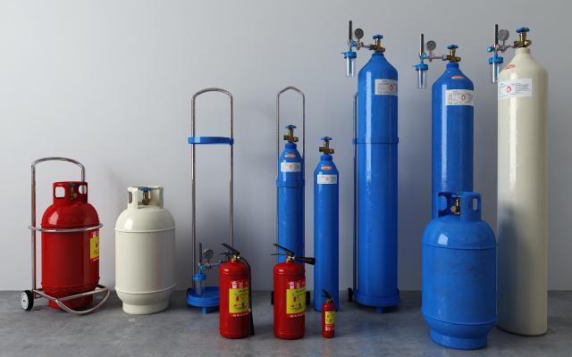 现代灭火器 煤气罐
