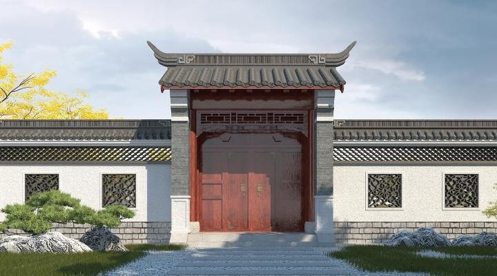 中式庭院�T