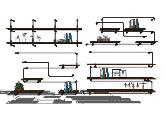 现代墙饰 置物架 装饰架