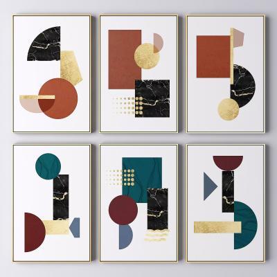 现代抽象装饰画 抽象画 艺术画