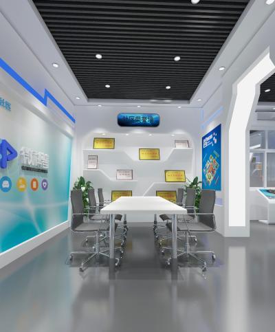 现代科技展厅 荣誉墙 显示屏