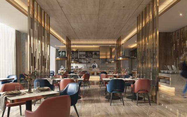 現代自助餐廳