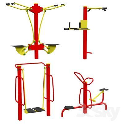 现代运动健身器械