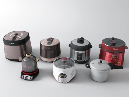 现代电压锅 电饭煲 电砂锅