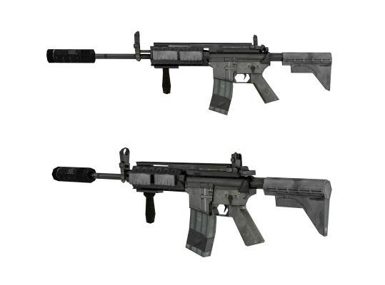 现代自动步枪 玩具枪 枪模
