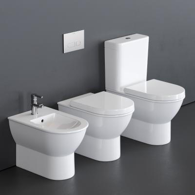现代风格卫浴组合 马桶