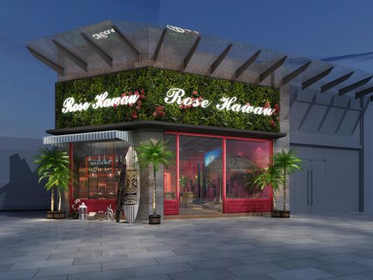 東南亞音樂餐廳 門頭門面
