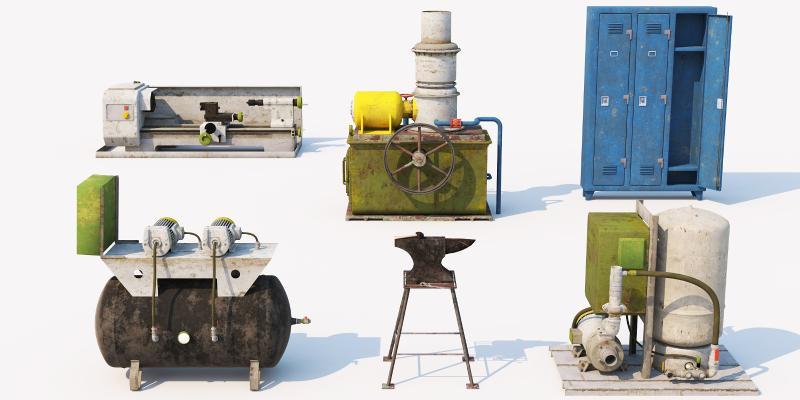 现代工业设备 机器