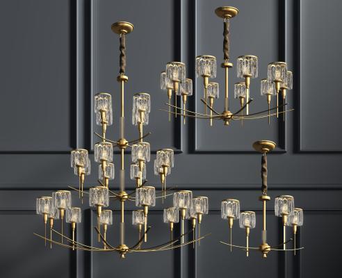 美式水晶吊灯系列