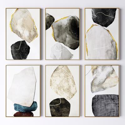北欧抽象几何装饰画 抽象画 艺术画