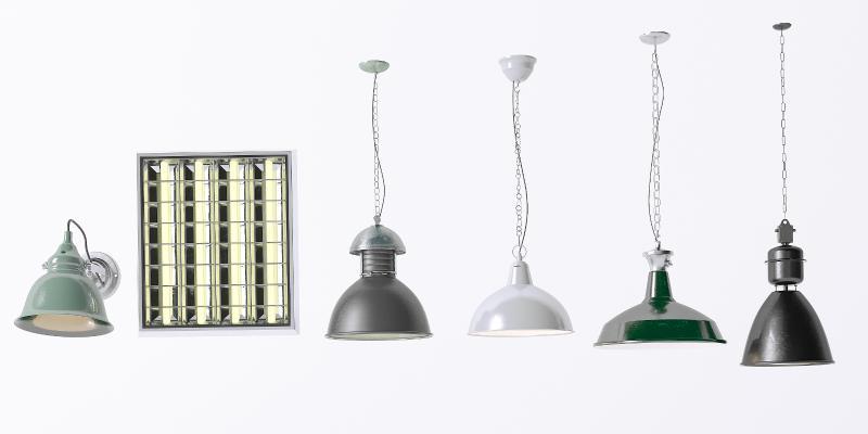 工业吊灯 壁灯 筒灯