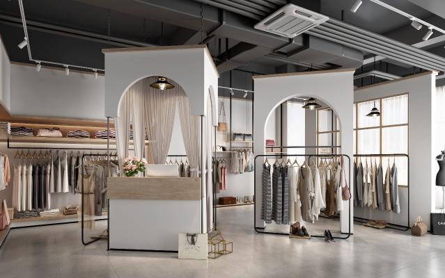 現代服装店 女装店
