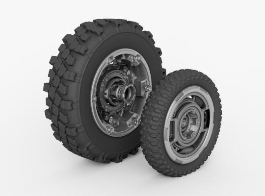 现代轮胎轮毂 轮胎 轮毂