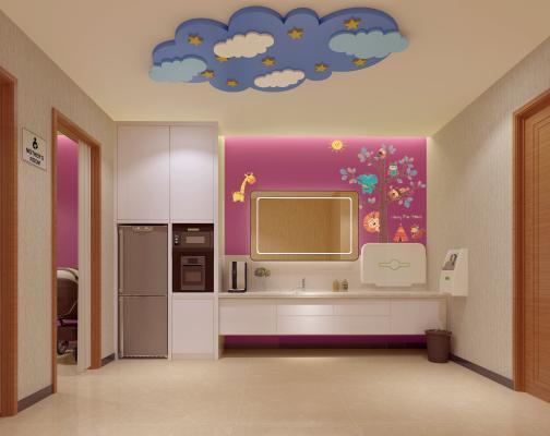 现代母婴室