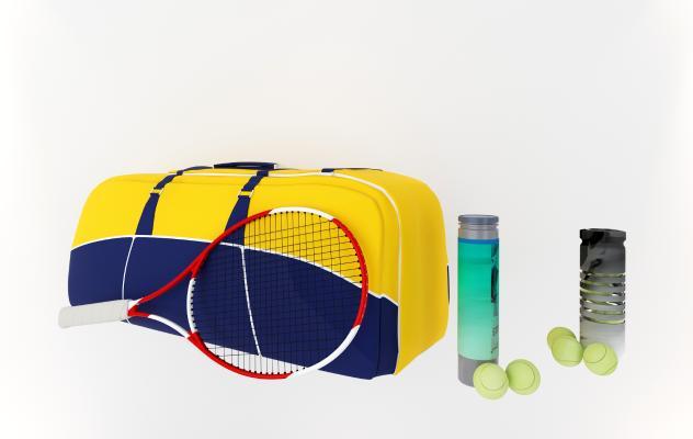 现代体育用品健身器材 网球拍网球背包
