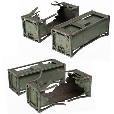 现代弹药箱 武器箱 储物箱