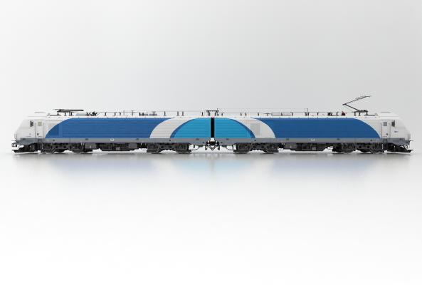 現代風格列車