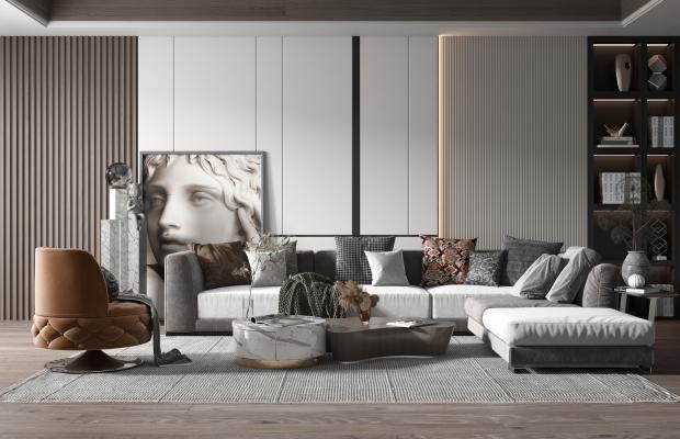 現代風格客廳