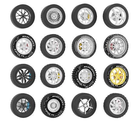 现代汽车轮胎 轮毂