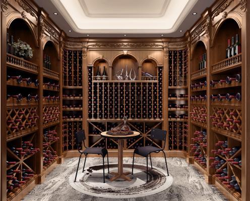 美式酒柜 酒窖