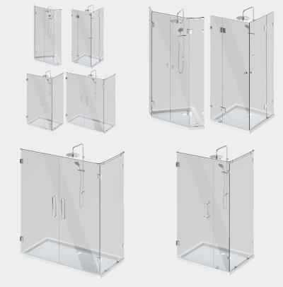 现代卫浴用品淋浴房五金件