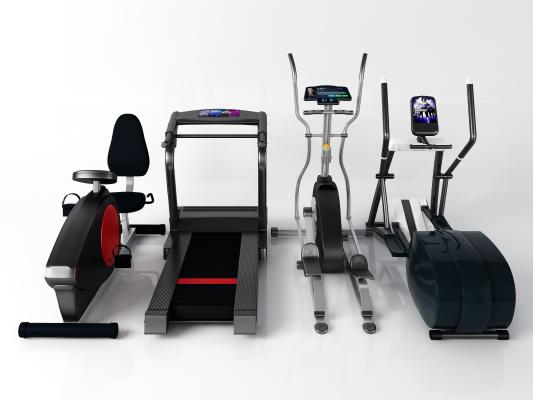 現代健身器材 跑步機 漫步機