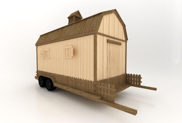 現代風格小房子