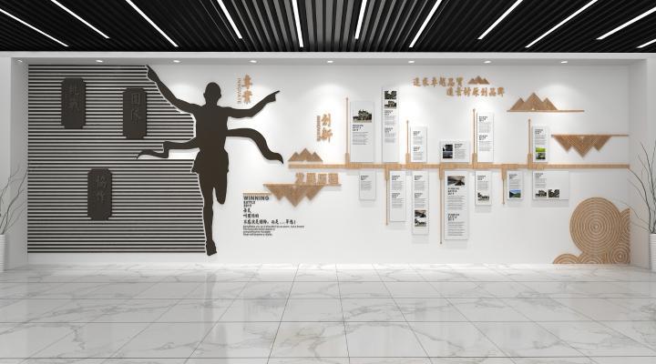 现代文化墙 企业文化墙