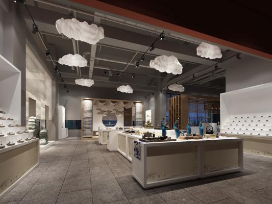 新中式茶艺展厅