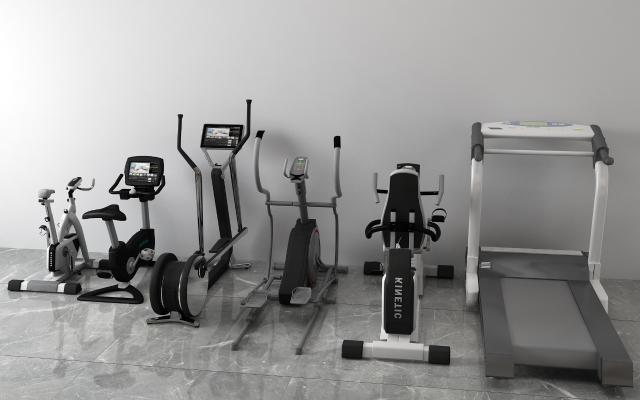 现代跑步机 单车