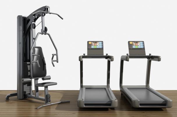 现代跑步机 健身器械