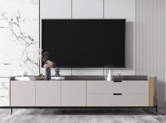 现代电视柜 雕塑 装饰柜