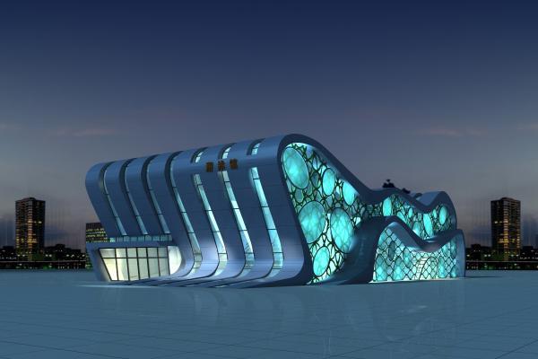 现代游泳馆